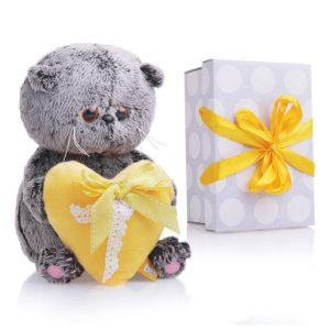 басик Baby с желтым сердцем